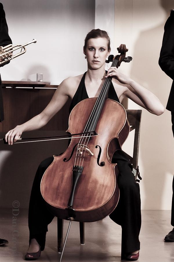 Dan Crona, cellisten, porträtt