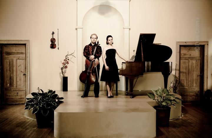 Willem Stam, cello  Elena Popkova, piano