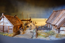Vikingabyn i miniatyr 1