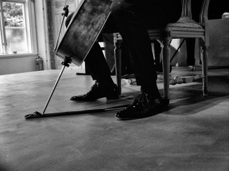 Shoes and Cello