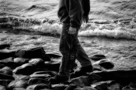 Camera and sea